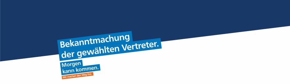 Vertreterwahl in 5 Wahlbezirken der Volksbank eG Gera • Jena • Rudolstadt