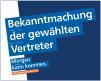 Vertreterwahl Volksbank eG Gera • Jena • Rudolstadt
